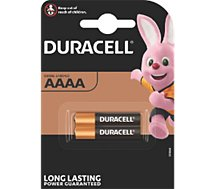 Pile Duracell ULTRA POWER AAAA, pack de 2 unités