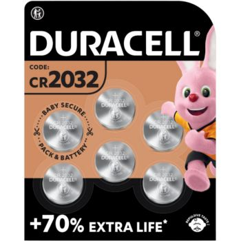 Duracell DL/CR 2032 x6