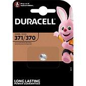 Pile Duracell Oxyde d'argent 371/370, 1 unité