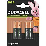 Pile Duracell  AAA/LR03 PLUS POWER 750 mAh, x4