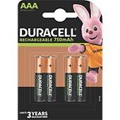 Pile Duracell AAA/LR03 PLUS POWER 750 mAh, x4