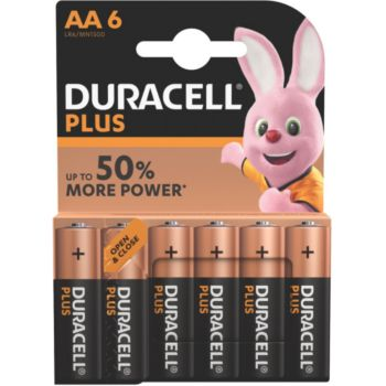 Duracell AA x6 Plus LR06