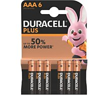 Pile Duracell  AAA x6 Plus LR03