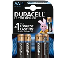 Pile non rechargeable Duracell AA x4 Ultra Power LR06