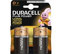 Pile Duracell D x2 PLUS POWER LR20