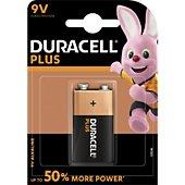 Pile Duracell PLUS POWER 9v, 1 unité