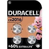 Pile Duracell DL/CR 2016 x4
