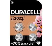 Pile Duracell  DL/CR 2032 x4