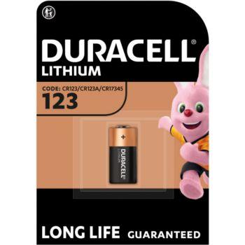 Duracell spéciale ultra lithium CR123, 1 unité