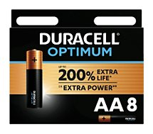 Pile Duracell  AA x8 Optimum