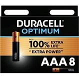 Pile Duracell  AAA x8 Optimum