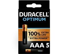 Pile Duracell  Optimum AAA x4 + 1 offerte