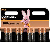 Pile Duracell AA X8 PLUS