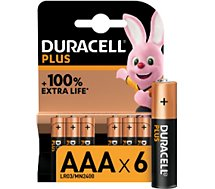 Pile Duracell  AAA X6 PLUS