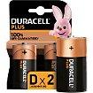 Pile Duracell D X2 PLUS