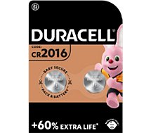 Pile Duracell Lithium SPE 2016 - 2 piles