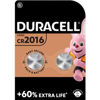 Duracell DL/CR 2016, pack de 2 unités