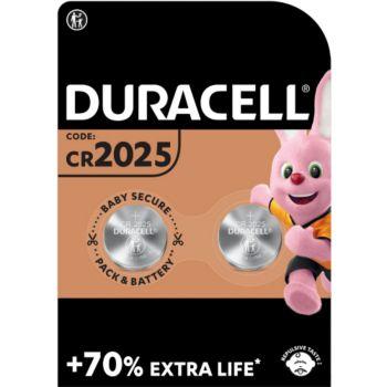 Duracell Lithium DL/CR 2025, pack de 2 unités