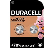 Pile non rechargeable Duracell Lithium SPE 2032 - 2 Piles