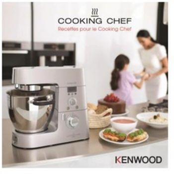 Kenwood recettes pour le cooking chef livre de cuisine for Tablette cuisine cook