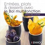 Livre de cuisine Kenwood  Entrées, plats, desserts avec bol KAH647