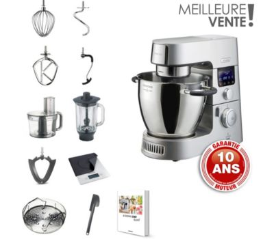 Robot cuiseur Kenwood Cooking chef Gourmet KCC9063S
