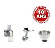 Coffret Kenwood  KAM365ME Kit Hachoir/Rape/Presse agrumes
