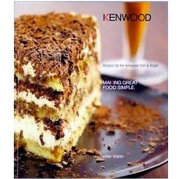 Kenwood Livre de recettes en ANGLAIS KW675350