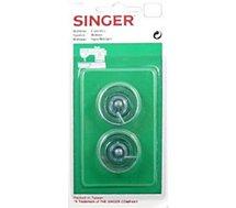 Accessoire couture Singer  Blister 2 canettes automatiques