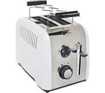 Grille-pain Breville VTT519X-01 Acier/Blanc nacré