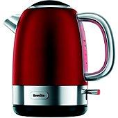Bouilloire Breville VKJ885X01 OPULA RED 1L KETTLE