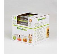 Boîte de conservation Food Saver  FFC015X01 lotx2 700ml + 1.2L