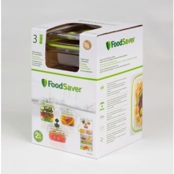 Food Saver FFC015X01 lotx3 700ml + 1.2L + 1.8L