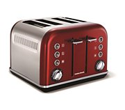 Morphy Richards Accents Refresh 4 tranches Rouge