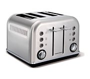 Morphy Richards Accents Refresh 4 tranches Inox