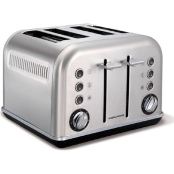 Morphy Richards Accents Refresh 4 Tranches Inox Grille Pain Boulanger