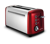 Grille-pain Morphy Richards  Accents 2 longues tranches Rouge