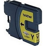 Cartouche d'encre Brother  LC980 jaune