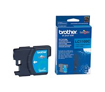 Cartouche d'encre Brother  LC1100 cyan