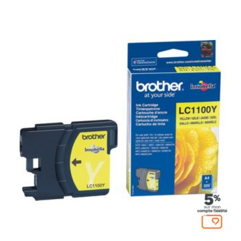 Brother LC1100 Jaune