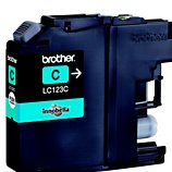 Cartouche d'encre Brother  LC123 Cyan