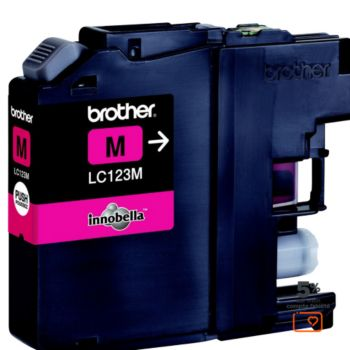 Brother LC123 Magenta