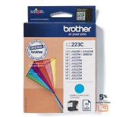 Cartouche d'encre Brother LC223 Cyan