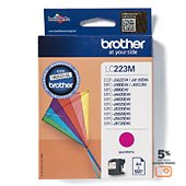 Cartouche d'encre Brother LC223 Magenta