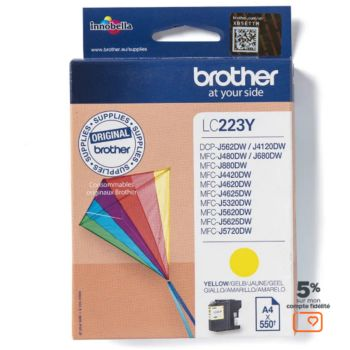 Brother LC223 Jaune