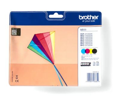 Cartouche d'encre Brother LC223 N/C/M/J