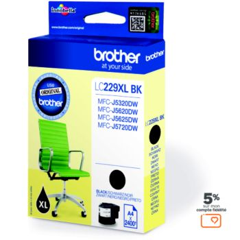 Brother LC229XL Noire