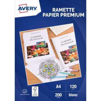Avery 200 Feuilles de papier premium 120g