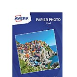 Papier photo Avery  20 Photos mates A4 170g/m²