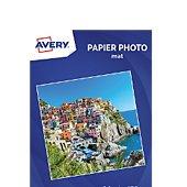 Papier photo Avery 20 Photos mates A4 170g/m²